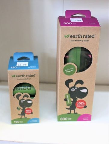 Earth Rated Poop rolls of bags