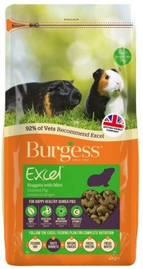 BURGESS GUINEA PIG FOOD WITH MINT