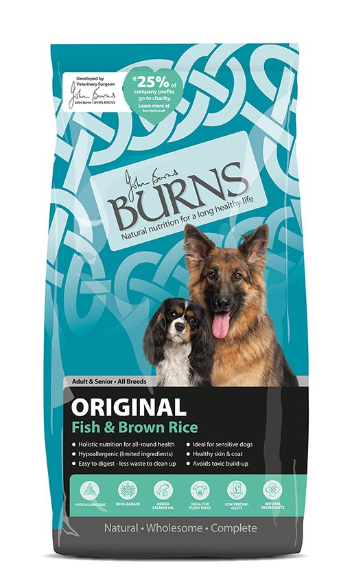 Burns Adult/Senior Fish and Rice