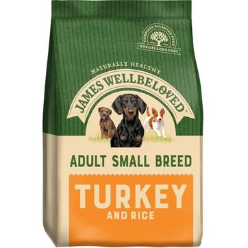 James Wellbeloved Small Breed Turkey and Rice