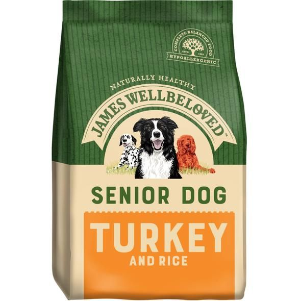 James Wellbeloved Senior Turkey and Rice