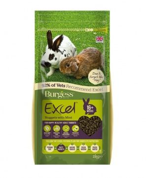 Burgess Adult Rabbit Food WITH MINT