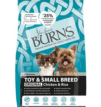Burns Toy and Small Breed Adult/Senior- Chicken